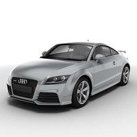 Audi TT RS Coupe 2010 3D Model