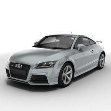 Audi TT RS Coupe 2010 3D Model