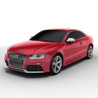 Audi RS5 2010 3D Model