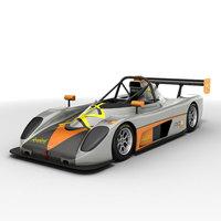 Radical Pr6 Prosport 3D Model