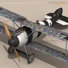 Albatros D Va jasta 26 3D Model