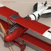 Albatros D Va jasta 18 3D Model