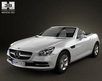 Mercedes-Benz SLK 2012 3D Model