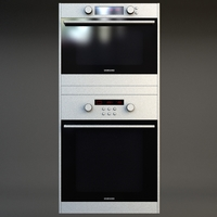 Double Wall Oven 3 3D Model