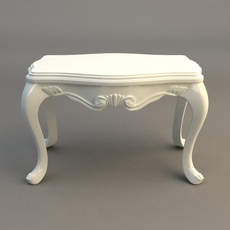 Small End Table 3D Model