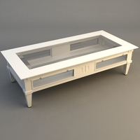 Low Coffee Table 3D Model