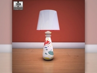 Ashley Mell Table Lamp 3D Model
