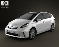 Toyota Prius V 3D Model