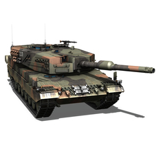 Panzer 87 - Swiss Army 3D Model