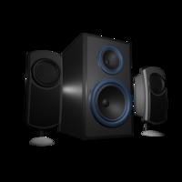 Free speaker 3D Model