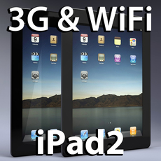 iPad2 3D Model