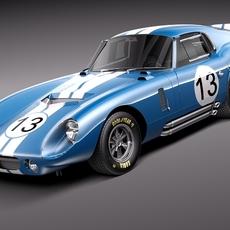 Shelby Daytona Cobra Coupe 1964 3D Model