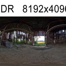 Barn HDRI Environment (High resolution)