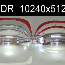 Garage 2 HDRI Environment (High resolution)