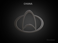 Chana 3d Logo 3D Model