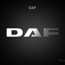 DAF 3d Logo 3D Model