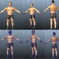 UFC Fighter 3D Model