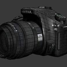 pentax SLR Camera 3D Model