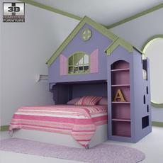 Nursery room 05 Set 3D Model