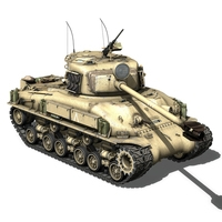M-51 Super Sherman IDF 3D Model