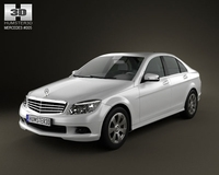 Mercedes-Benz C class 3D Model