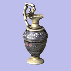 Decorated Urn 3D Model