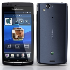 Sony Ericsson XPeria Arc 3D Model