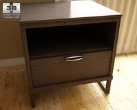 Ashley Sonya Drawer Night Stand 3D Model