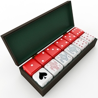 Dice Collection 3D Model