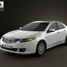 Honda Accord sedan 3D Model