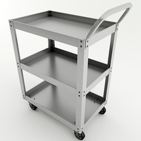 Metal Cart 3D Model