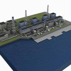 Fukushima 1 3D Model