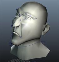 Maya muscle facial rig 1.0.0 for Maya