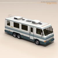 Recreational vehicle 3D Model