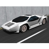 Vector W8 Twin Turbo 3D Model