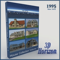 House Collection Vol 1 3D Model