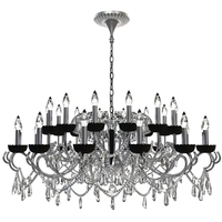 Detailed Beaded Chandelier 3D Model