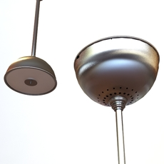 Contemporary Lamps Set 3D Model