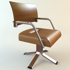 Office Armchair 3D Model