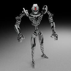 Robot TKF100 3D Model
