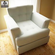 Ashley Zia - Spa Chair 3D Model