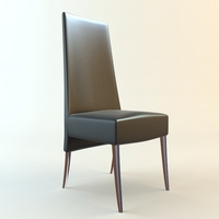 High Back side Chair 3D Model