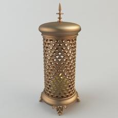 Turkish Candle Holder 3D Model