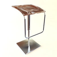 Contemporary Bar Stool 3D Model