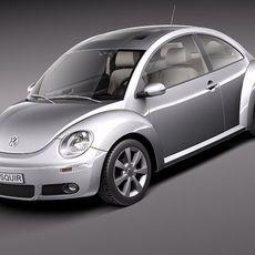 Volkswagen Beetle 2005-2011 3D Model