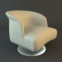 Contemporary Armchair 3D Model