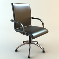 Office Armchair 3 3D Model