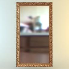 Rectangular Wall Mirror 3D Model