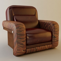 Florence Collection Fire chair 3D Model