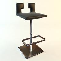 Bar Stool 2 3D Model